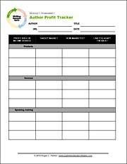 profit worksheets
