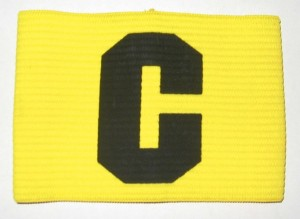 Big C Armband - yellow